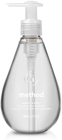 Method Gel Hand Wash, Sweet Water, 12 Ounce (Pack of 6)
