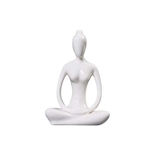 Amazon.com: toonol abstracto arte posturas de yoga Figura ...