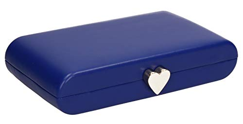 SWANKYSWANS Womens Heart Bag Ruth Clutch Box Blue Party Love Royal Prom rqErOPtx