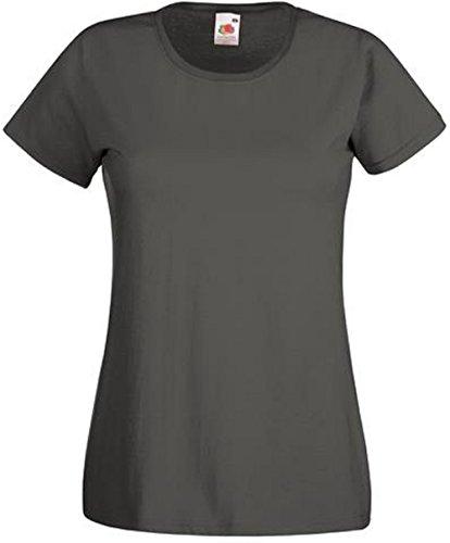 Absab Camiseta Ltd Grafito Mujer Claro Gris 1zggwx