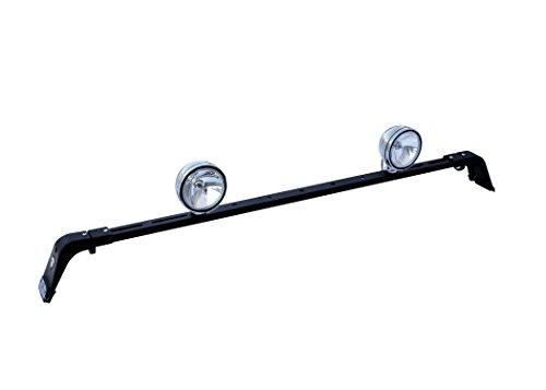 Carr's 210871 Deluxe Rota Light Bar Black Powder Coat (Carr Deluxe Light Bars)