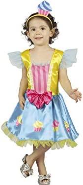 DISONIL Disfraz Cupcake Bebé Talla M: Amazon.es: Juguetes y juegos