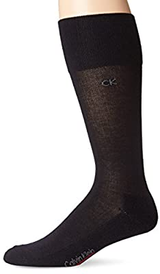 Calvin Klein Men's Tech Heat Non-Elastic Crew Sock