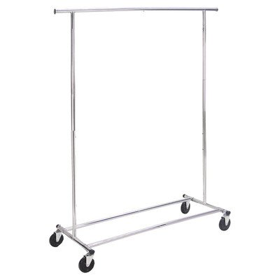 Richards Homewares Commercial Grade Garment Rack-Chrome