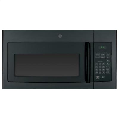 """GE JVM3160DFBB 30"""" Over-the-Range Microwave Oven with 1.6 cu. ft. Capacity in Black"""