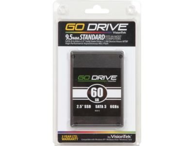 Price comparison product image VisionTek GoDrive 900606 2.5'' 480GB SATA III MLC Internal Solid State Drive (SSD)