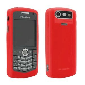 Blackberry 8120/30 Pearl Wrap Red - Pearl Blackberry Faceplates