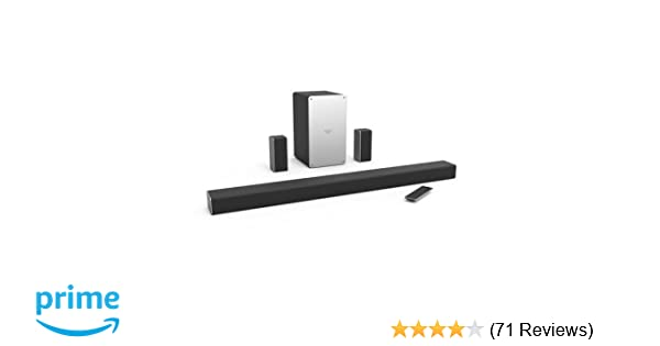 VIZIO SB3651-E6C 5 1 Soundbar Home Speaker (Renewed)