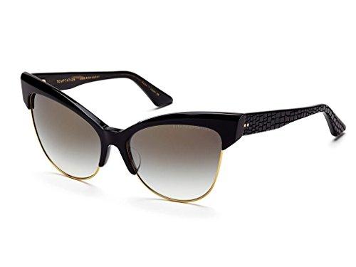 Dita Temptation 22029-A-BLK-GLD-61 Sunglasses Black Gold 61mm (Dita Sunglasses)