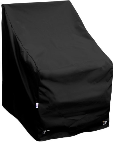 KoverRoos Weathermax 72250 High Back Chair Cover, 29-Inch Width by 31-Inch Diameter by 36-Inch Height, Black from KOVERROOS