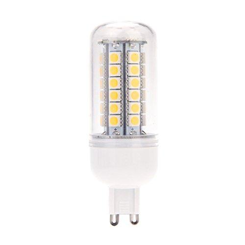 TOOGOO(R)G9 10W LED Luz 5050 SMD 48 LED Luz del maiz LED Lampara Bombilla Ahorro de energia 360 grados Blanco caliente 220-240V: Amazon.es: Iluminación