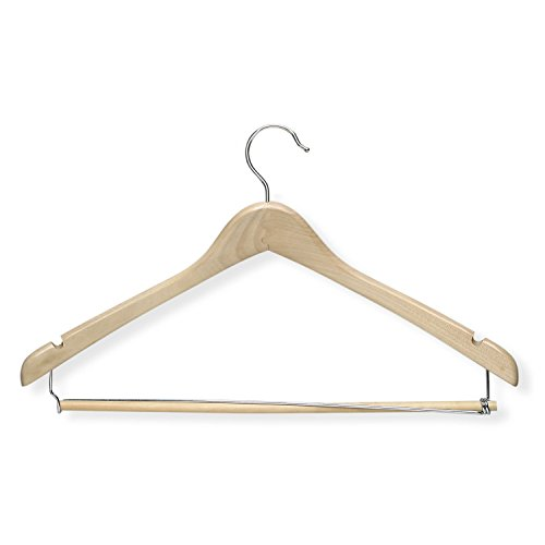 Honey Can Do HNGT01264 Contoured Hanger Locking