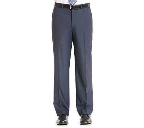 John Bartlett Statements Men's Blue Pindot Suit Separate Pant