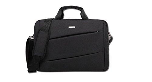 """Fen bolso para Macbook Pro 14""""MacBook Pro de 15pulgadas con pantalla Retina Color sólido material de nylon hombres de maletín de nailon resistente al agua bolsas de hombro azul azul oscuro 15inch negro"""