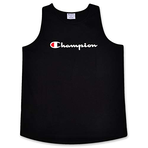 Champion Mens Big and Tall Swim Tank with Script Logo