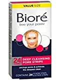 Biore Deep Cleansing Pore Strips, Deep Cleansing Combo, 24 ea - 2pc
