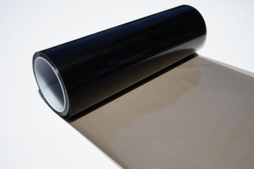 DIBRAND Headlights, Tail Lights, Fog Lights Tint Vinyl Film, Self Adhesive (Small 12''X48'', Gloss Black)