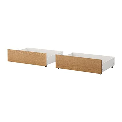 Ikea Malm Bed Storage Box For High Bed Frame Oak Veneer A 60 2