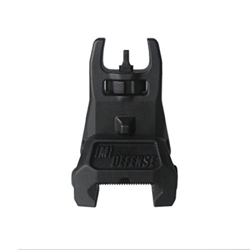 IMI Defense Black Front Polymer Flip Up Sight Tactical & Sports
