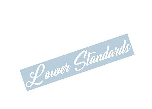 (Xpin Graphics Lower Standards Windshield Window Banner Decal Sticker 36