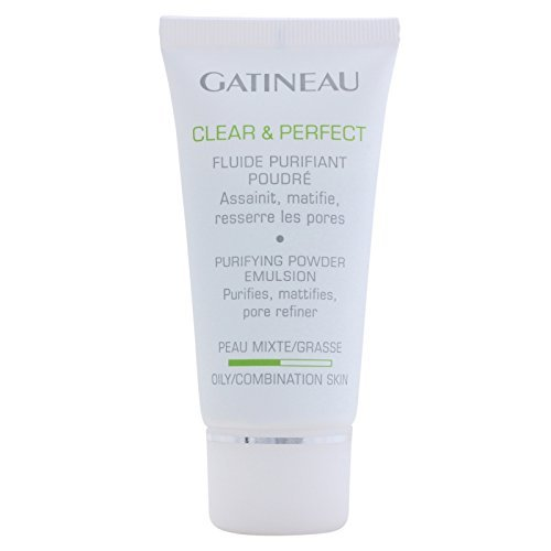 Emulsion Purifying (Gatineau Clear & Perfect Purifying Powder Emulsion (For Oily/Combination Skin) 50ml /1.6oz by Gatineau)
