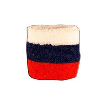 Digni® Poignet éponge avec drapeau Russie
