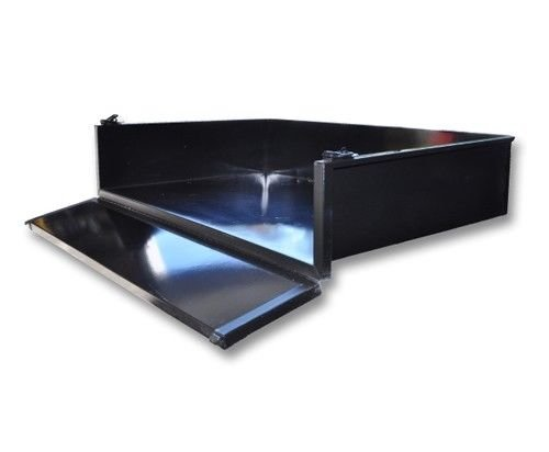 Madjax Black Steel Cargo Box Kit Ezgo RXV
