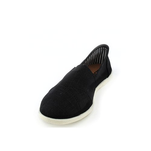 Shiekh Womens Object-s Casual Flat Black