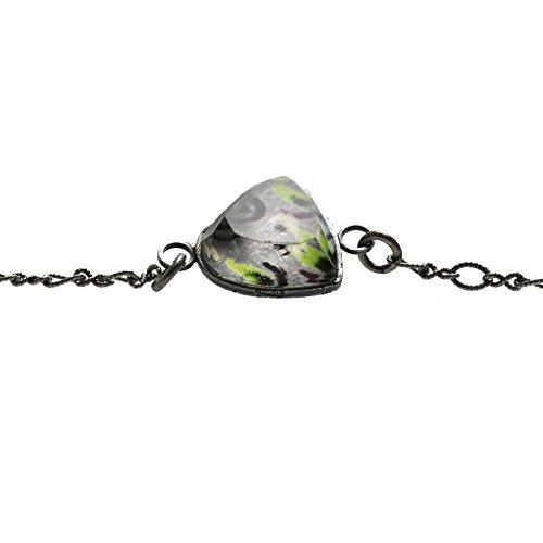 Tamarusan Eyewear Chain Heart Gray Shell Amethyst Unisex Eyeglasses Code by TAMARUSAN