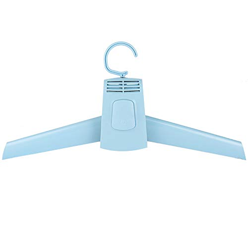 Clothes Drying Hanger, Suit Clothes Fast Clothes Drying Rack with Cold and Hot Wind, Suit Hanger Dryer 100V-240V Portable Cloths Dryer