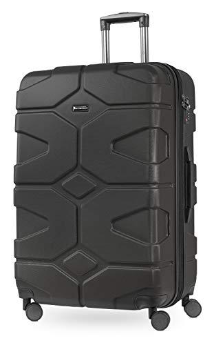 Hauptstadtkoffer - X-Kölln - Luggage Suitcase Hardside Expandable Trolley 4 Wheel Spinner, TSA Lock, 76 cm, 120 Liter, Graphite