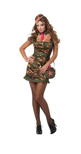 California Costumes Eye Candy Private First Class, Multi, Medium -