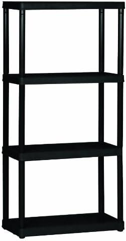 Gracious Living 4-Shelf Light Duty Shelf Unit – The Super Cheap