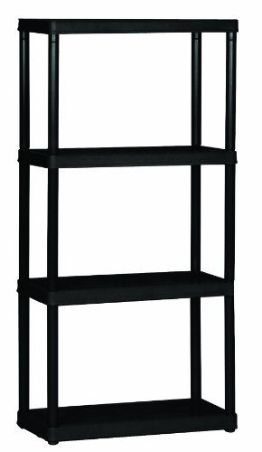 Gracious Living 4-Shelf Light Duty Shelf Unit