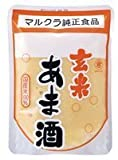 Marukura brown rice sweet sake 250gX20 pieces