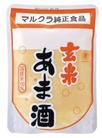 Marukura brown rice sweet sake 250gX20 pieces by Marukura food