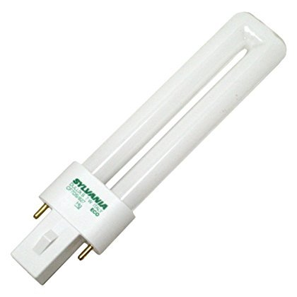 - (10 Pack) Sylvania 21277 CF7DS/827/ECO 7-Watt 2700K 2-Pin Single Tube Compact Fluorescent Lamp