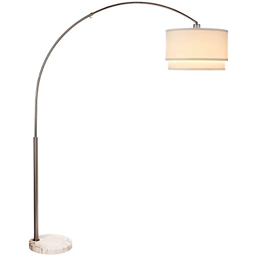 Brightech Mason Led Arc Floor Lamp Modern Standing Light