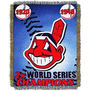 Series Tapestry Blanket (The Northwest Company Cleveland Indians 48