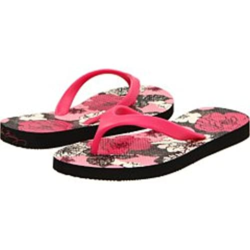 Women Flip Flops (Medium (7-8) Mocha rouge)