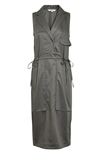 next Mujer Vestido Versátil Tencel® Petite Ropa Gris