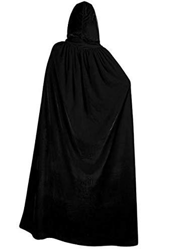 BBZone Jedi Robe Hooded Halloween Costume for Women
