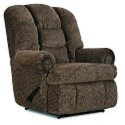 - Stallion Comfort King Chaise Wallsaver Recliner Color: Brown