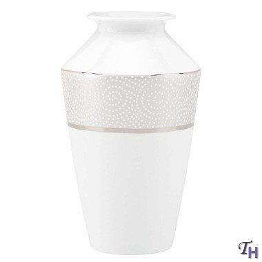Pearl Beads Medium Vase by Lenox