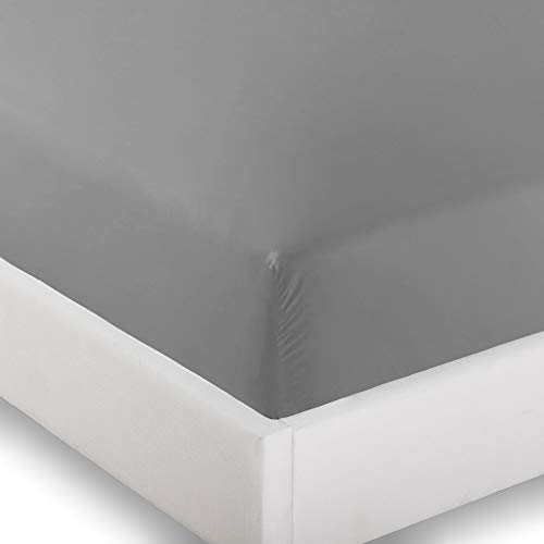Ivy Union 2 Twin XL Fitted Bed Sheets (2-Pack) - Twin Extra Long, 15 Deep Pocket, 39 x 80, (Twin XL, Light Grey)