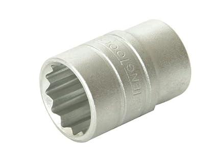 Teng M120514-C Regular Bi Hexagon Socket 14mm 1/2in Square Drive TENM120514 1/2in Drive Sockets - Metric Hand Tools Mechanics and Automotive Tools Metric - 1/2in Drive Standard Sockets - Teng