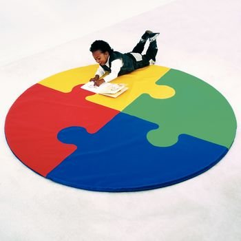 Activity Mats 6'; Square Puzzle Mat by Rolyn Prest