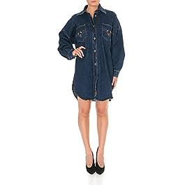 Moschino Fashion Womens V045455201290 Blue Dress | Autumn-Winter 19