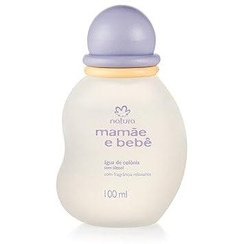 Linha Mamae e Bebe Natura - Agua de Colonia sem Alcool com Fragrancia Relaxante 100 Ml