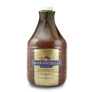 Ghirardelli Sweet Ground Chocolate Flavored Sauce, 64 Ounce -- 6 per case.